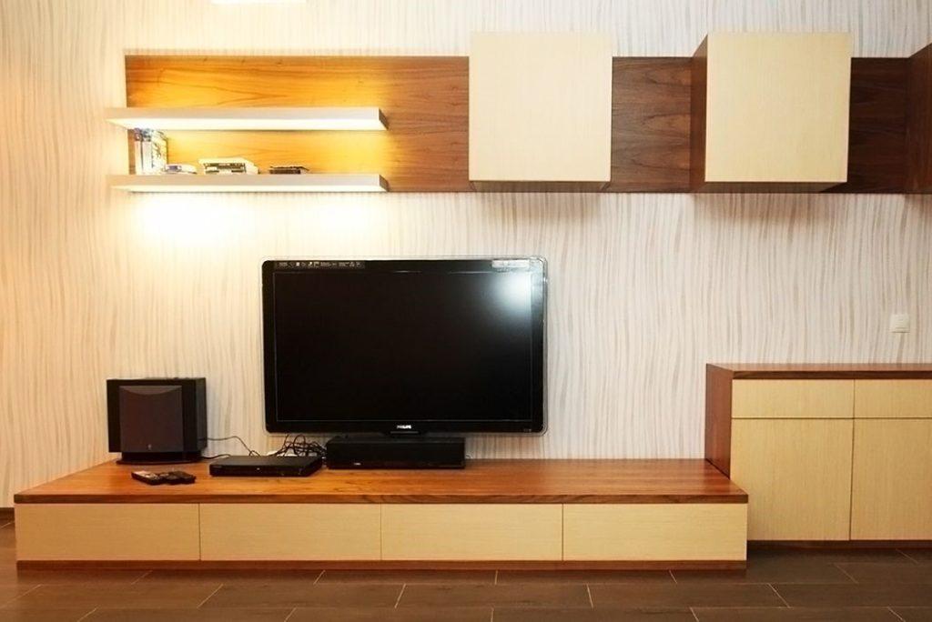 Корпусная мебель в зале