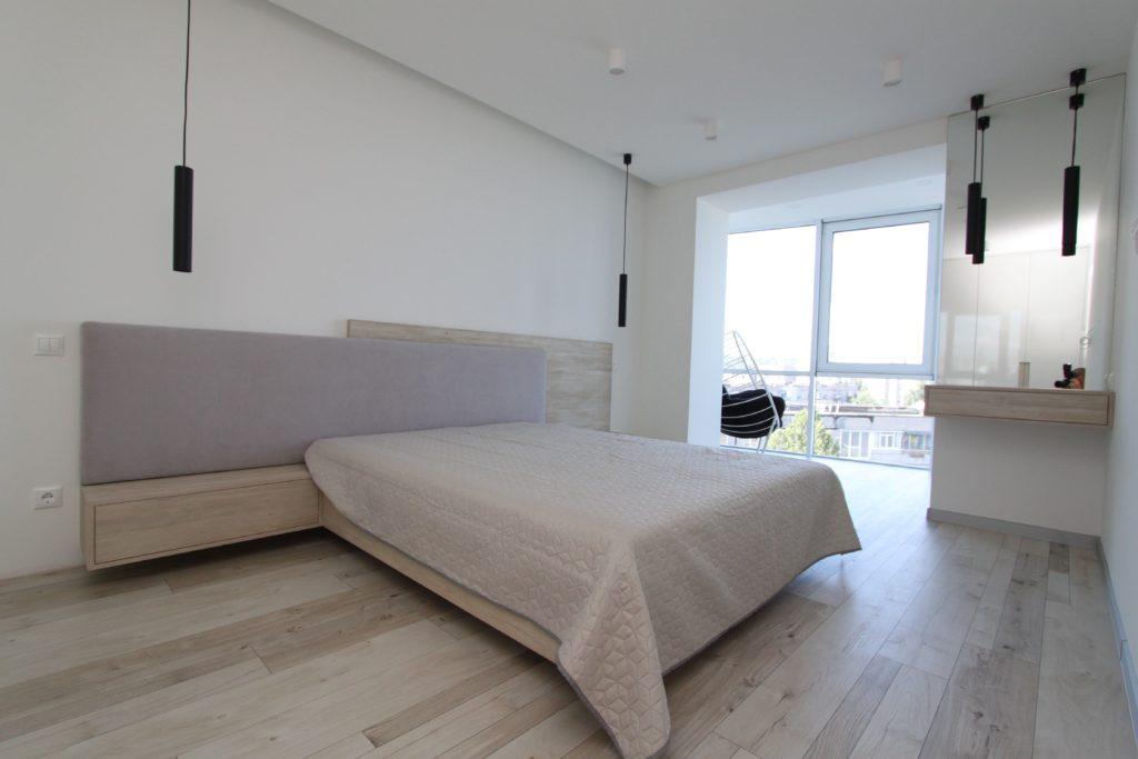 Спальня из массива в скандинавском стиле