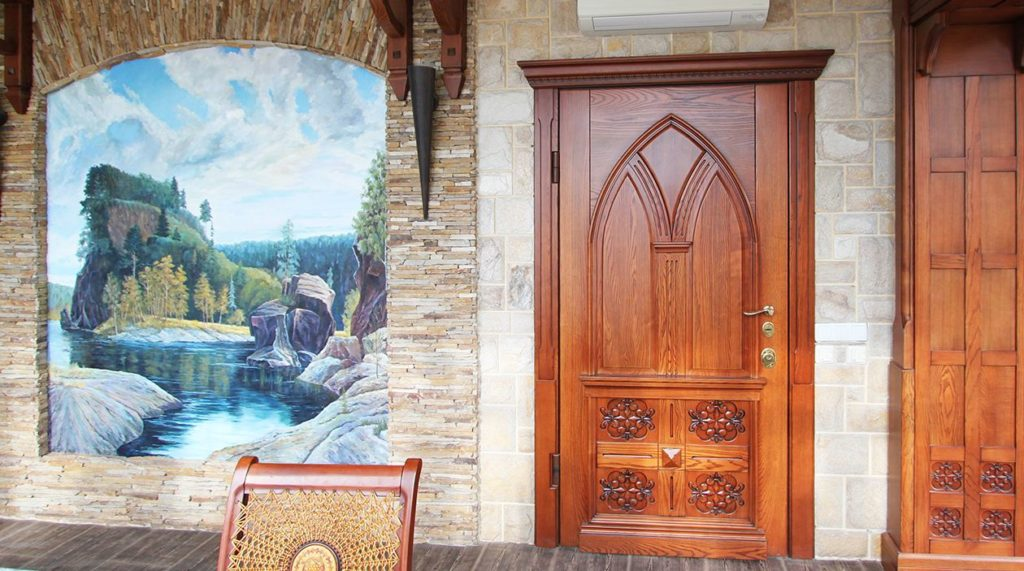 Большая межкомнатная дверь
